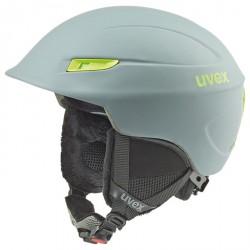 Casco esquí Uvex Gamma gris