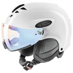 Casco esquí Uvex Hlmt 300 Vario blanco