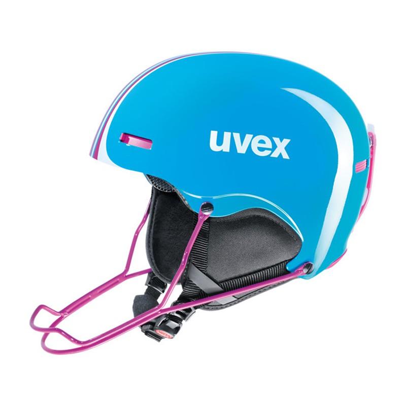 Casco sci Uvex Hlmt 5 Race azzurro