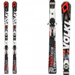 Esquí Volkl Racetiger RC Uvo + fijaciones xMotion 12.0 Tcx negro