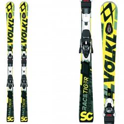 Ski Volkl Racetiger SC Uvo + fixations xMotion 12.0 Tcx jaune