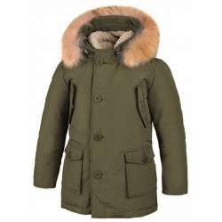 Parka Freedomday Bormio Junior green