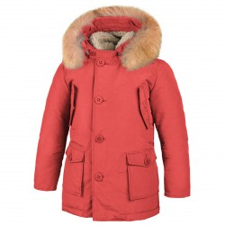Parka Freedomday Bormio Junior red
