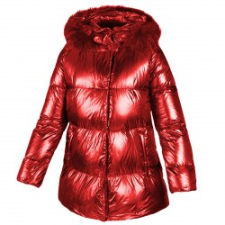 Down jacket Freedomday Gardena Woman red