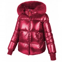 Down jacket Freedomday Chatel Woman fuchsia