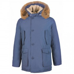 Parka Freedomday Campiglio Man light blue