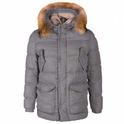 Down jacket Freedomday Makalu Man grey