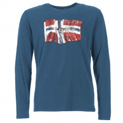 T-shirt Napapijri Seres Hombre azul claro