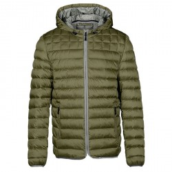 Down jacket Napapijri Aerons Man green