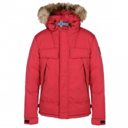Skidoo Napapijri Open Short Man red