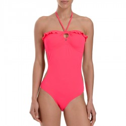 swinsuit Guess Lipstick woman