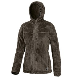 Fleece Astrolabio A48T Woman brown