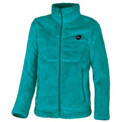 Fleece Astrolabio JR8F Woman turquoise