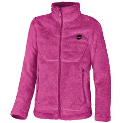 Fleece Astrolabio JR8F Woman fuchsia