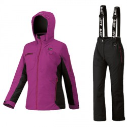 Ski set Astrolabio YG7U Girl violet