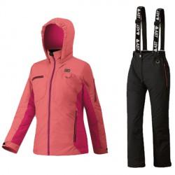 Conjunto esquí Astrolabio YG7U Niña rosa
