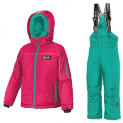 Ensemble ski Astrolabio YG9B Fille rose