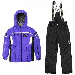 Conjunto esquí Astrolabio JM9D Niña violeta