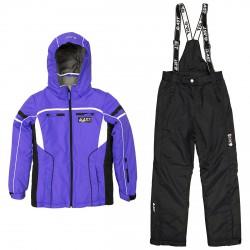 Ensemble ski Astrolabio JM9D Fille violet
