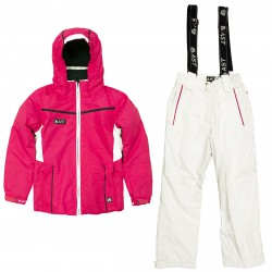 Ski set Astrolabio J19L Girl fuchsia