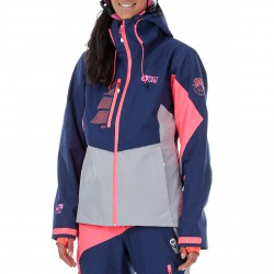 Freeride ski jacket Picture Seen Woman