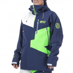 Freeride ski jacket Picture Nova Man blue