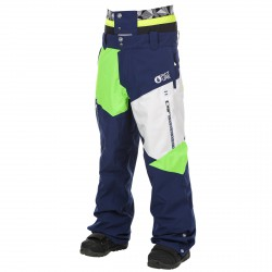 Freeride ski pants Picture Nova Man blue