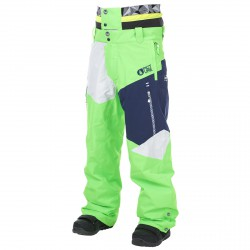 Freeride ski pants Picture Nova Man green