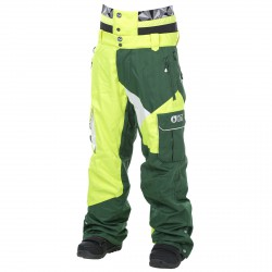 Freeride ski pants Picture Styler Man green