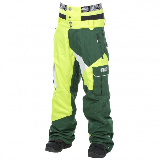 Pantalone sci freeride Picture Styler Uomo verde