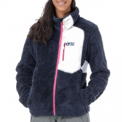Fleece Picture Nikaho Woman blue