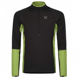 Première couche Montura Warm Zip Homme noir-vert