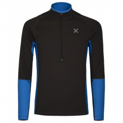 Première couche Montura Warm Zip Homme noir-bleu