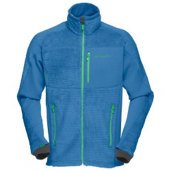 Fleece Norrona Lofoten Warm 2 High Loft Man blue