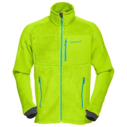 Fleece Norrona Lofoten Warm 2 High Loft Man acid green