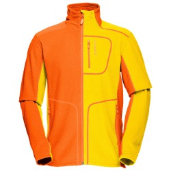 Polaire Norrona Lofoten Warm 1 Homme jaune-orange