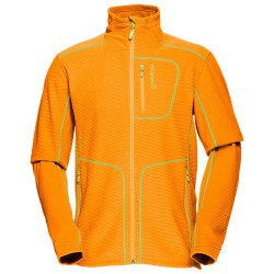 Polaire Norrona Lofoten Warm 1 Homme orange