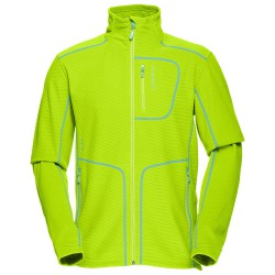 Fleece Norrona Lofoten Warm 1 Man acid green