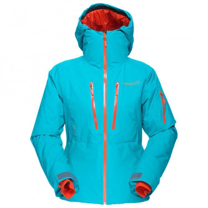 Blouson de ski femme vert
