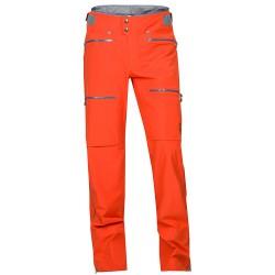 Copripantalone freeride Norrona Lyngen driflex3 arancio