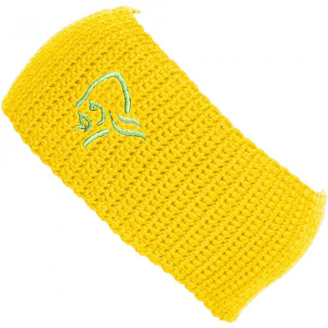 Fascia Norrona /29 Logo giallo NORRONA Cappelli guanti sciarpe