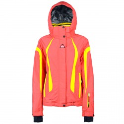 Veste ski On The Edge Evimal Femme corail