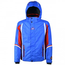 Veste ski On The Edge M-sky Garçon royal