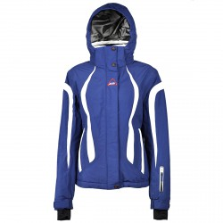Ski jacket On The Edge Evimal Woman blue