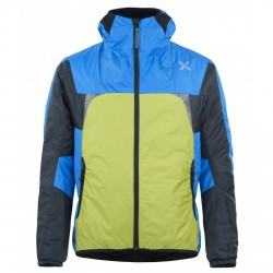 Jacket Montura Skisky Man lime-blue