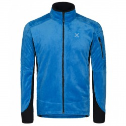 Jacket Montura Polar Confort Man blue