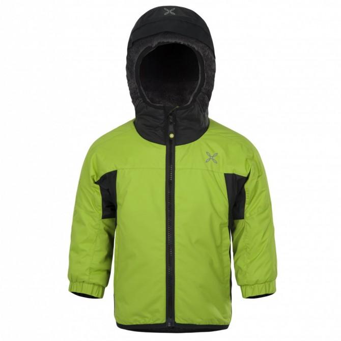 Chaqueta esquí Montura Snow Baby verde ácido