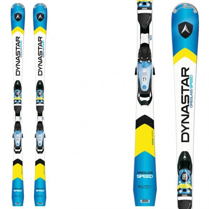 sci Dynastar Speed Omeglass Fluid + attacchi Nx 12 fluid B80