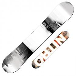 Snowboard Nitro Addict PREZZO SPECIALE PER SERIGRAFIA SBIADITA bianco-nero