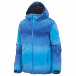 Ski jacket Rossignol Matrix Junior light blue